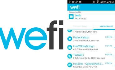 internet gratis android wefi pro android iphone