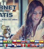 internet gratis ilimitado cualquier pais