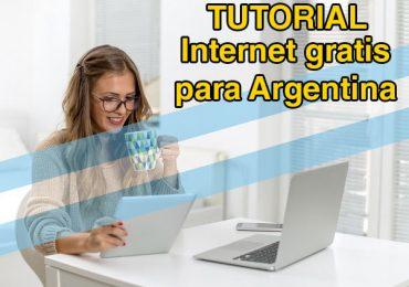internet gratis para argentina