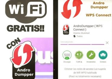 Internet gratis con andro dumper