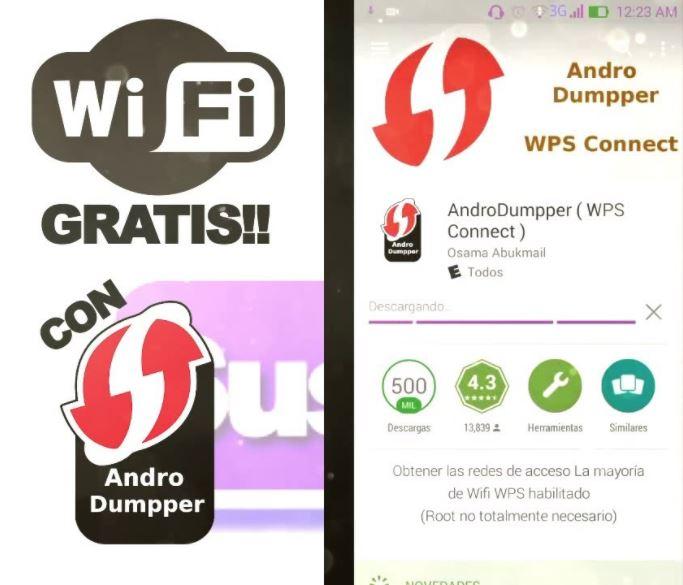 Cómo tener Internet gratis con la aplicación AndroDumpper