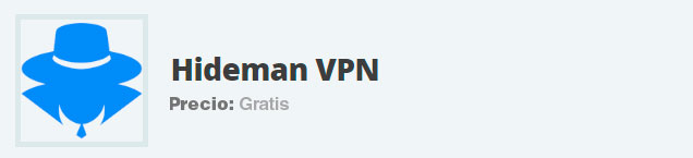 internet gratuito vpn hideman